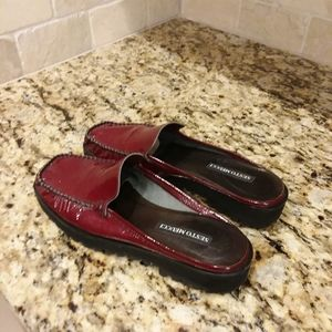 SESTO MEUCCI Ruby Red Comfortabe Mule Career Shoes